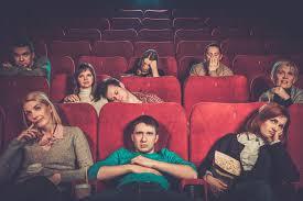 wactching a movie